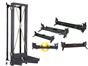 Car frame and counter frame